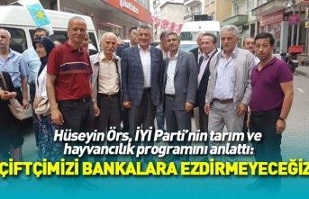 İYİ Parti Trabzon Milletvekili adayı Hüseyin Örs:...