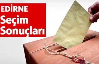 Edirne Seçim Sonuçları 2018 – Edirne Milletvekilleri...