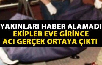 Trabzon'da bir kişi ölü bulundu