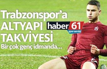 Trabzonspor'a altyapı takviyesi