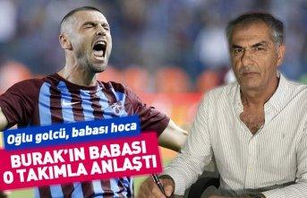 Trabzonsporlu Burak Yılmaz'ın babası 1. lig...