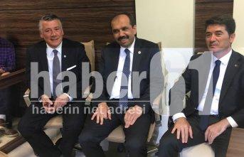Trabzon'da 3 partinin vekilleri birarada