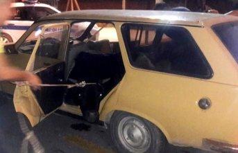 Polisin durdurduğu araçtan 400 kiloluk dana çıktı