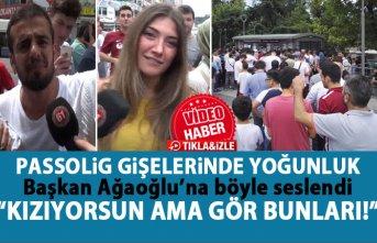Trabzonspor - Sivasspor maçı öncesi passolig noktalarında...