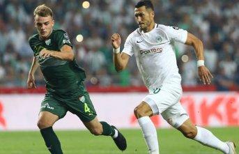 Konyaspor ve Bursaspor yenişemedi