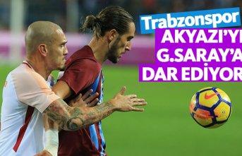 Trabzonspor Galatasaray'a Akyazı'yı dar...