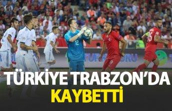 Türkiye Rusya'ya Trabzon'da yenildi