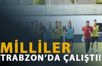 Milliler Trabzon'da çalıştı!