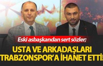 Eski asbaşkandan sert sözler: Trabzonspor'a...