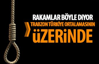 Trabzon'da intihar hızı Türkiye ortalamasının...