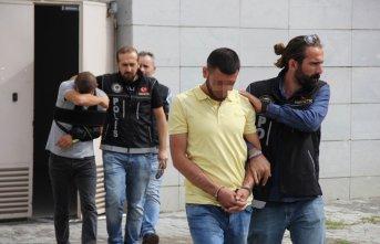 Samsun'da operasyon: 5 gözaltı