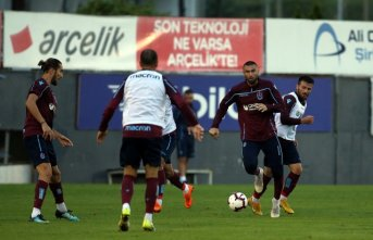 Trabzonspor Göztepe maçı hazırlıklarına başladı