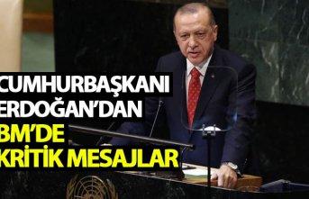 Cumhurbaşkanı Erdoğan'dan BM Zirvesi'nde...