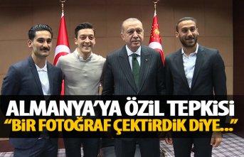 Erdoğan'dan Mesut Özil açıklaması: Bir fotoğraf...