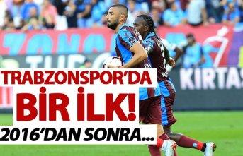 Trabzonspor'da 2016'dan sonra ilk kez