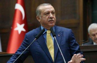 """Cumhurbaşkanı Erdoğan: """"Dalgalanmayı geride..."""