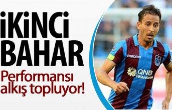 Trabzonspor'da ikinci baharını yaşıyor