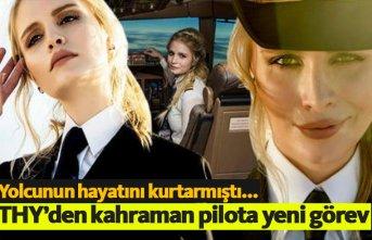 THY'den kahraman pilot Ebru Ünsal'a yeni...