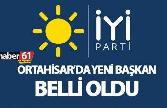 İYİ Parti Ortahisar İlçe Başkanı belli oldu