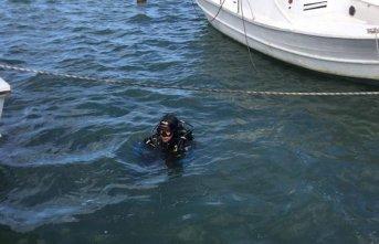 Denizde kaybolan şahıs, hala aranıyor