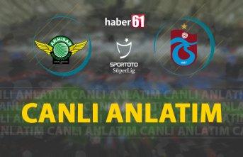 Akhisarspor - Trabzonspor / Canlı Anlatım