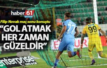 """Filip Novak: """"Gol atmak her zaman güzeldir"""""""