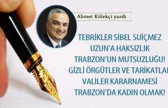 Trabzon'da kadın olmak!