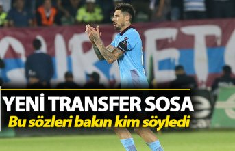 Trabzonspor'un yeni transferi Sosa