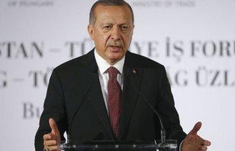 Cumhurbaşkanı Erdoğan'dan Macaristan'a...