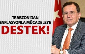 Trabzon'dan enflasyonla mücadeleye destek