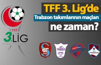 TFF 3. Lig'de Trabzon takımlarının maçları...