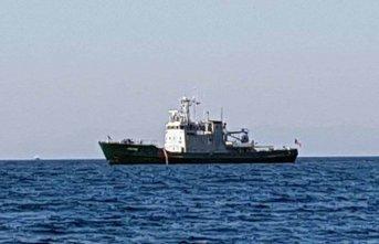 Yunan gemisi Türk sularında