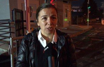 Aracına kurşun isabet eden kadın o anları anlattı