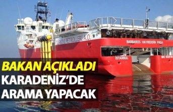Bakan Açıkladı - Karadeniz'de sondaj yapılacak