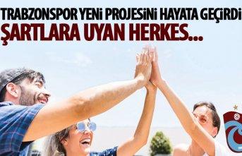 Trabzonspor'da yeni proje hayata geçti