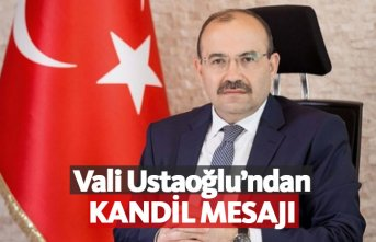 Trabzon Valisi'nden kandil mesajı