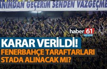 Fenerbahçe taraftarı Trabzon'a gelecek mi?...