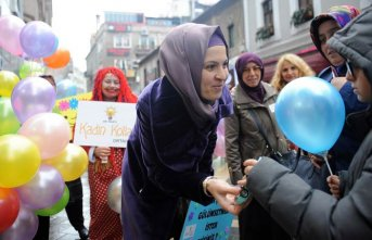 Trabzon'daki çocuklara Dünya Çocuk Günü'nde...