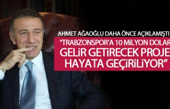 Trabzonspor 10 Milyon Dolarlık proje hayata geçiyor
