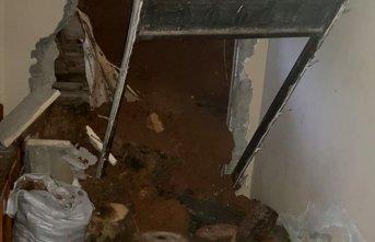 Of'ta faciadan dönüldü! 3 katlı ev boşaltıldı!