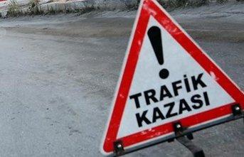 Tekirdağ'da kaza: 1 ölü 3 yaralı