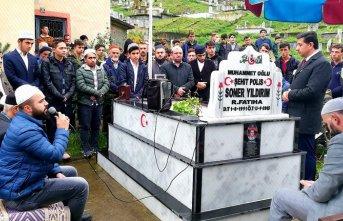 Trabzon'da şehit polis memuru anıldı