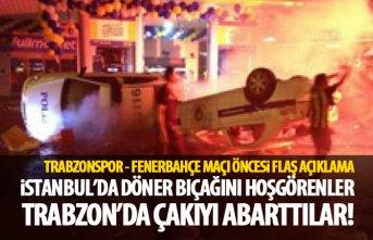 Trabzonspor - Fenerbahçe maçı öncesi flaş açıklama
