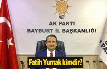 AK Parti Bayburt Belediye Başkan Adayı Fatih Yumak...
