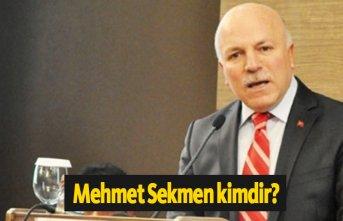 AK Parti Erzurum Belediye Başkanı Mehmet Sekmen...