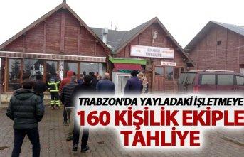 Trabzon'da yayladaki işletmeye 160 kişilik...