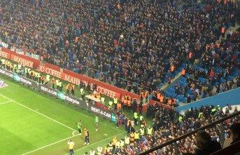 Trabzonspor taraftarının kalbi heyecana dayanmadı