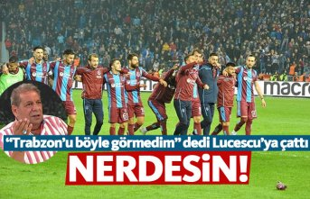 Toroğlu'ndan Trabzonspor maçı yorumu