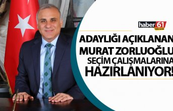 Murat Zorluoğlu seçim çalışmalarına hazırlanıyor