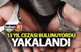 Trabzon'da aranan bir kişi yakalandı